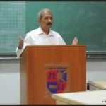 speaking at Nirma Institute of Management